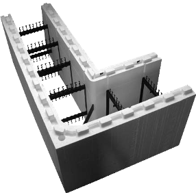 Technical resources specifications cad test reports for for Building with icf blocks