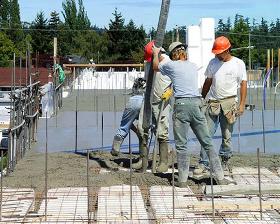 Green Building Materials Insul Deck Icf Eps Concrete