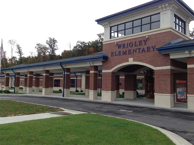 Wrigley Elementary school rebuilt after tornado in West Liberty KY in 2012